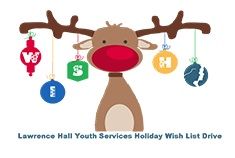 Lawrence Hall Reindeer Graphic